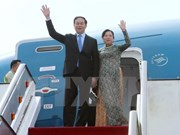 Presidente de Vietnam viaja a Cuba para visita oficial