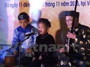 Efectúan en Hanoi Festival juvenil de canto ceremonial Ca Tru