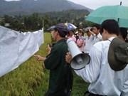 JICA inspecciona proyecto de desarrollo rural financiado por AOD en Vietnam