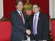 Dirigente partidista de Vietnam recibe a nuevo embajador japonés