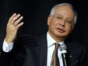 Premier malasio exhorta respeto de ley internacional en cuestión del Mar del Este