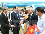 Presidente vietnamita inicia visita a Cuba
