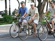 Impulsan desarrollo de bicicletas públicas en transporte urbano en Vietnam