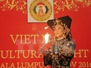 Presentan en Malasia rito del culto a la Diosa Madre del pueblo vietnamita