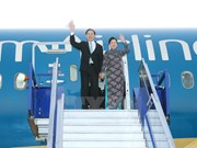 [Foto] Presidente de Vietnam llega a Perú para la Cumbre de APEC