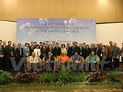 Celebran en Indonesia seminario sobre manejo de conflictos posibles en Mar del Este