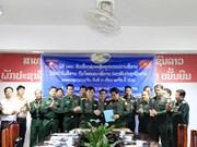 Respalda Vietnam equipos al ejército de Laos