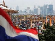 Crecimiento económico de Tailandia se desacelera en el tercer trimestre