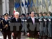 Presidente vietnamita asiste al Foro empresarial Vietnam-Italia