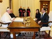 Papa Francisco afirma deseo de Vaticano de promover relaciones con Vietnam