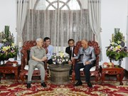 Líder partidista vietnamita continúa actividades en Laos
