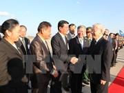 Líder partidista agradece hospitalidad del Partido, Estado y pueblo de Laos