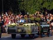 [Fotos] Los cubanos se despiden de Fidel Castro
