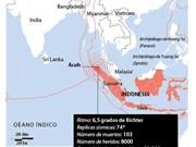 [Infografía] Terremoto en Indonesia: más de ocho mil heridos y muertos
