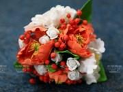 [Fotos] Hermosas flores de arcilla
