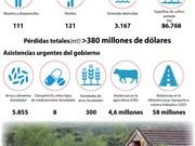 [Infografía] Inundaciones en el Centro de Vietnam: 111 muertos y desparecidos