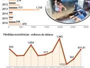 [Infografía] Desastres naturales causan daños por 900 millones USD