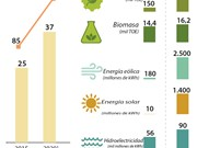 [Infografía] Desarrollo energético de Vietnam hasta 2020