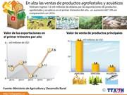 [Infografía] En alza las ventas de productos agrofestales y acuáticos