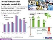 [Infografía] Índice de Producción Industrial subió 7,4%