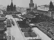 Las imágenes memorables del día de la victoria fascista