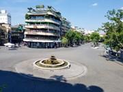 Calles de Hanoi desiertas por intensa ola de calor