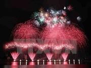 Reino Unido, Australia e Italia competirán en última noche del festival de pirotecnia Da Nang