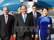 Actividades de premier vietnamita en Alemania