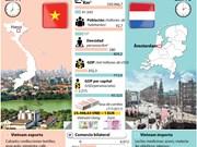 [Infografía] Vietnam y Países Bajos profundizan nexos de cooperación