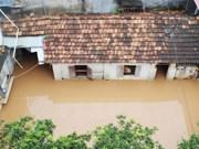 Diversas áreas en la provincia norteña de Son La anegadas por inundaciones