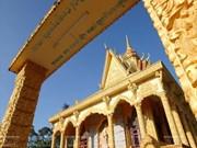Colores de las pagodas jemer en Vietnam