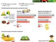 Estructura económica rural de Vietnam se transforma positivamente