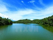 Lago Pa Khoang en la provincia norvietnamita de Dien Bien