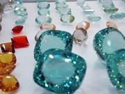Crece mercado de piedras preciosas en Hanoi