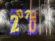 [Fotos] Espectáculos de fuegos artificiales en el mundo por Año Nuevo 2018