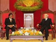 Dirigente partidista vietnamita recibe a líder legislativo de Indonesia