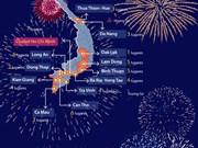 Fuegos artificiales iluminarán el cielo de 21 provincias