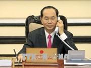 Presidente de Vietnam y Donald Trump sostienen llamada telefónica
