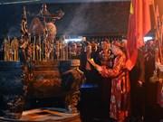 Inauguran festival del Sello Real del templo Tran