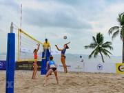 [Fotos] Inician en Ha Long Torneo Femenino Mundial de Voleibol de Playa