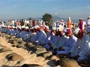 [Fotos] Pobladores de Cham Bani celebran festival Ramuwan