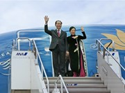 [Fotos] Presidente vietnamita llega a Japón para iniciar visita estatal