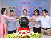[Fotos] Nuevo portal de la Agencia de Noticias de Vietnam hace su debut