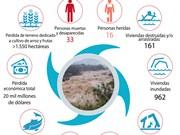 [Info] Asciende a 33 cifra de fallecidos y desaparecidos por riadas en Vietnam