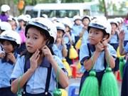 Honda Vietnam entregará cascos a alumnos en nuevo año académico
