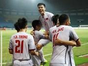[Fotos] Vietnam alcanza las semifinales de fútbol de ASIAD por primera vez