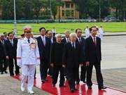 (Fotos) Homenaje al Presidente Ho Chi Minh en Día de la Independencia de Vietnam