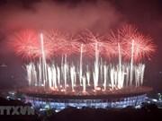 [Fotos] Imágenes de la clausura de los XVIII Juegos Asiáticos en Indonesia