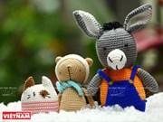 [Foto] Simpáticos animales y muñecos de lana hechos a mano