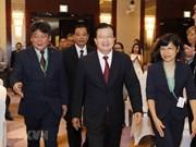 [Fotos] Celebran en Hanoi Foro sobre Crecimiento de Asia 2018